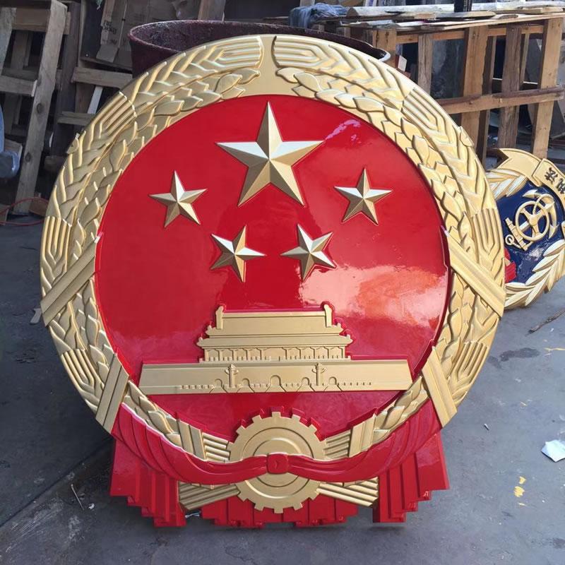 烤漆国徽制作